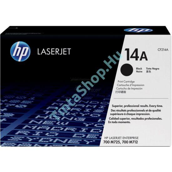 HP CF214A (No.14A) BK fekete (BK-Black) eredeti (gyári, új) toner