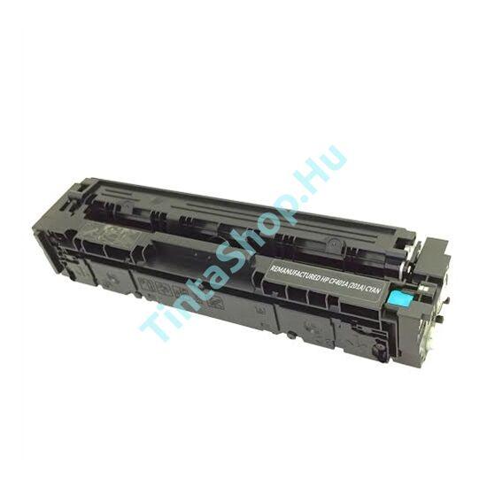 HP CF401A (No.201A) CY cián-kék (CY-Cyan) kompatibilis (utángyártott) toner