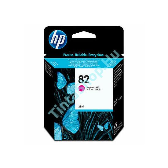 HP CH567A (No.82) MG bíbor (piros) (MG-Magenta) eredeti (gyári, új) tintapatron