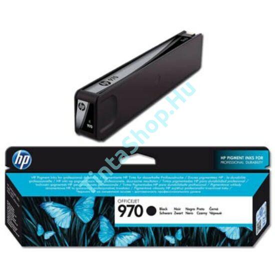 HP CN621AE (No.970) BK fekete (BK-Black) eredeti (gyári, új) tintapatron