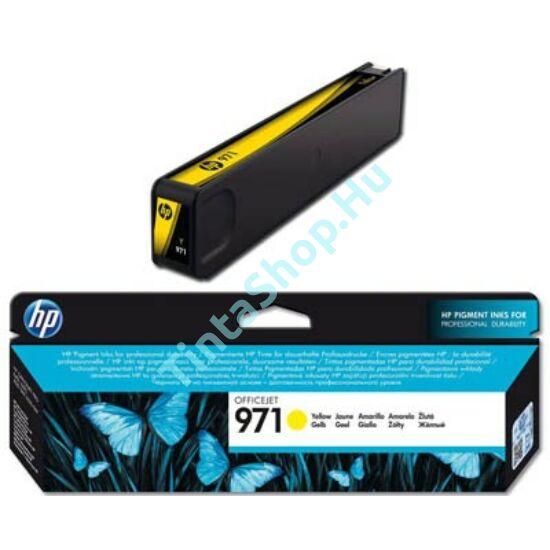 HP CN624AE (No.971) YL sárga (YL-Yellow) eredeti (gyári, új) tintapatron