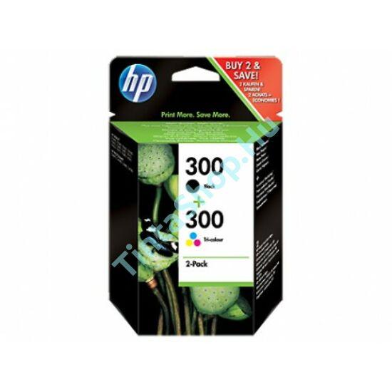 HP CN637EE (No.300) BK-C (Black-Color) eredeti (gyári, új) multipack