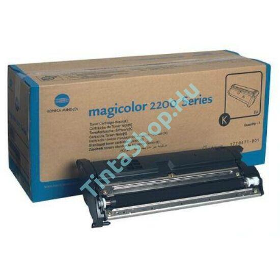 Minolta MC 2200 BK fekete (BK-Black) eredeti (gyári, új) toner