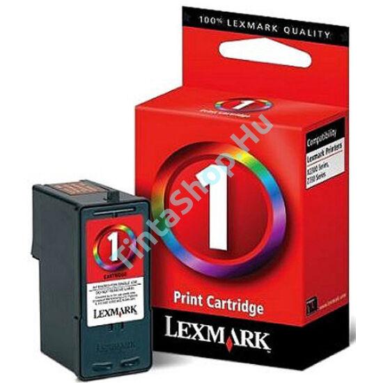 Lexmark 18C0781 (No.1) C színes (C-Color) eredeti (gyári, új) tintapatron
