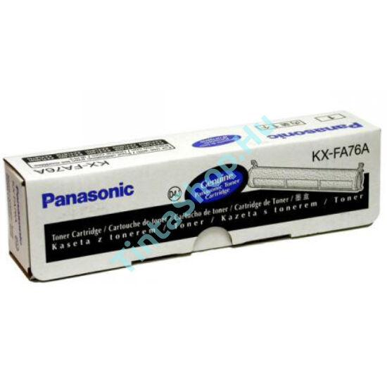 Panasonic KX-FA 76 fekete (BK-Black) eredeti (gyári, új) toner