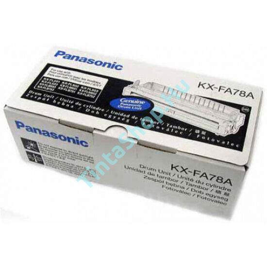 Panasonic KX-FA 78 fekete (BK-Black) eredeti (gyári, új) dobegység