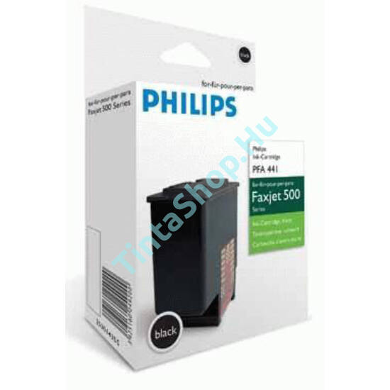 Philips PFA-441 BK fekete (BK-Black) eredeti (gyári, új) tintapatron