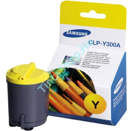 Samsung CLP-300A YL sárga (YL-Yellow) eredeti (gyári, új) toner
