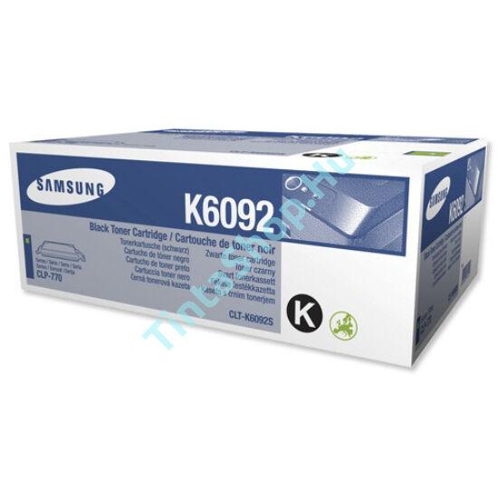 Samsung CLT-K6092S (CLP-770) BK fekete (BK-Black) eredeti (gyári, új) toner