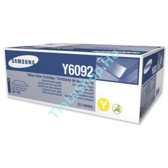 Samsung CLT-Y6092S (CLP-770) YL sárga (YL-Yellow) eredeti (gyári, új) toner