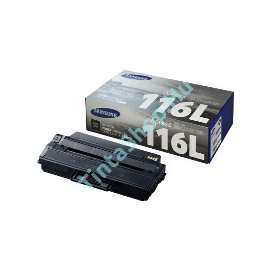 Samsung MLT-D116L BK fekete (BK-Black) nagy kapacitású eredeti (gyári, új) toner